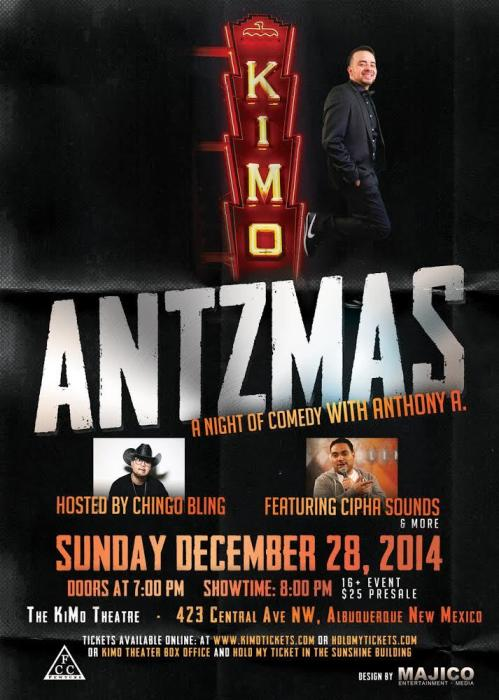 Antzmas: A Night of Comedy with Anthony A.