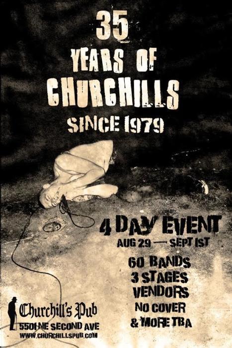 35 Years of Churchill