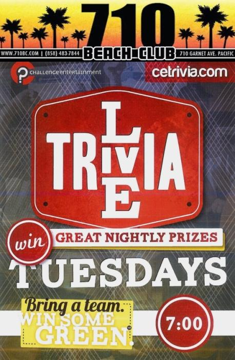 Live Trivia Tuesdays