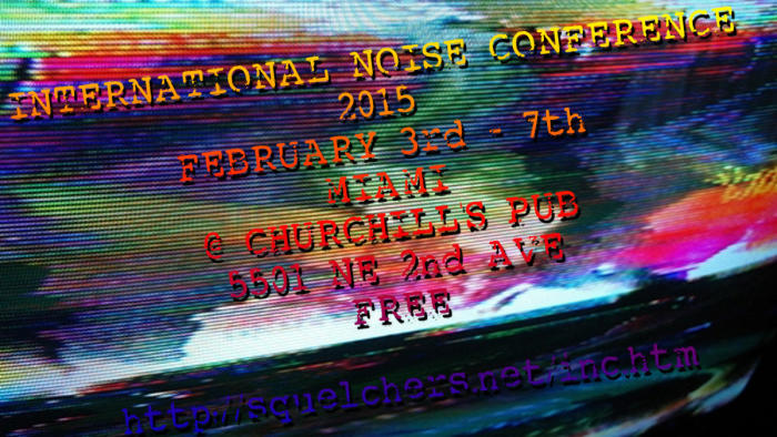 INC 2015 - International Noise Conference - Free