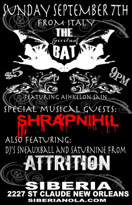 The Spiritual Bat | Shrapnihil | Attrition DJ
