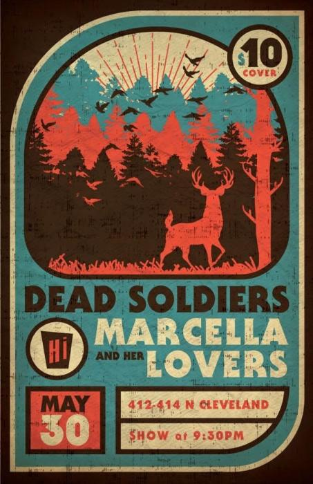 Dead Soldiers w/ Marcella & Her Lovers