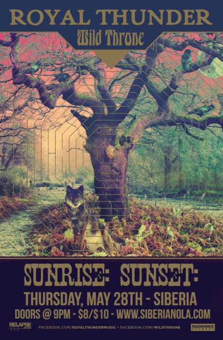 Royal Thunder | Wild Throne | Sunrise:Sunset: