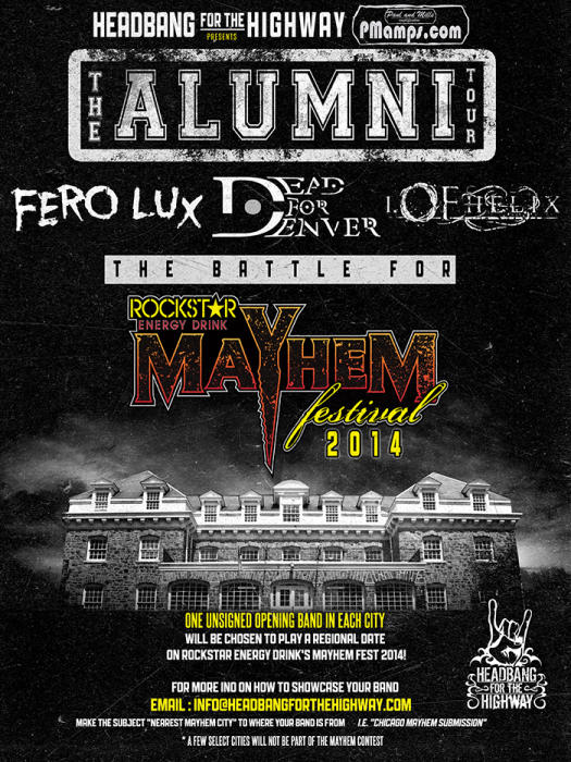 THE BATTLE FOR THE MAYHEM FESTIVAL 2014