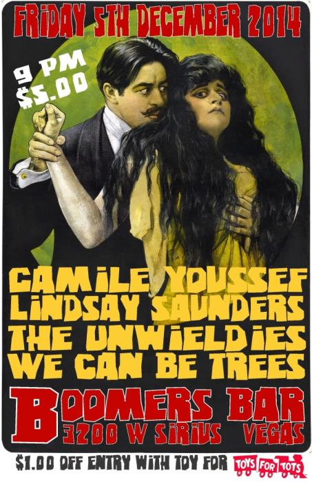 Lindsey Saunders ~ We Can Be Trees ~ The Unwieldies ~ Camile Youssef