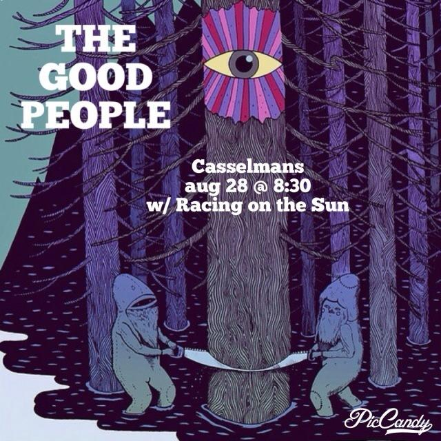 The Good People w/ Racing on the Sun