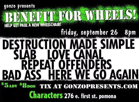 Captain Wheels Benefit to get a new Wheelchair