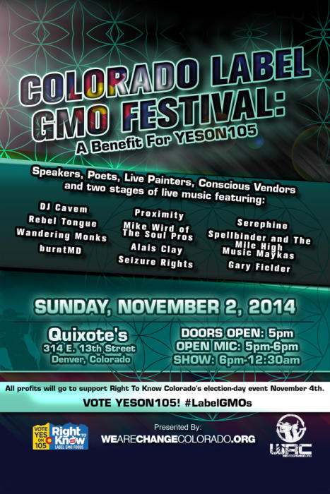 Colorado Label GMO Festival