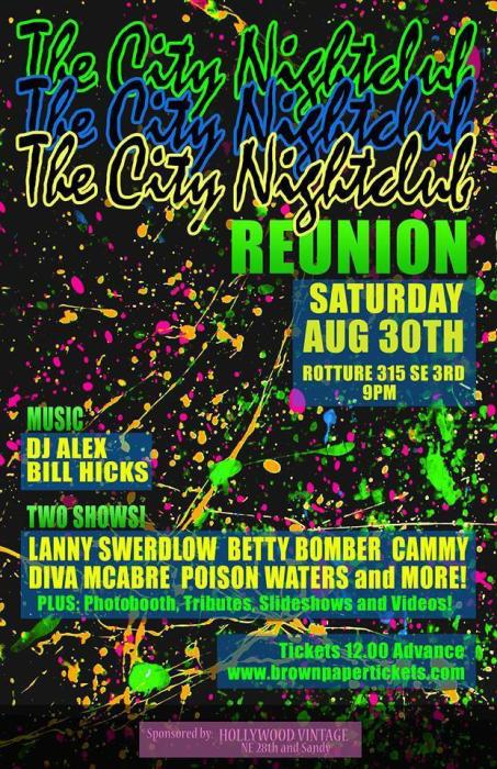 CITY NIGHTCLUB REUNION