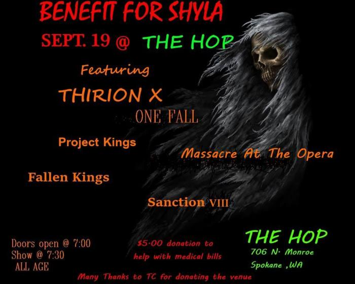 Fallen Kings, Massacre at the Opera, Sanction VIII, Thirion X, OneFall, The Project Kings.