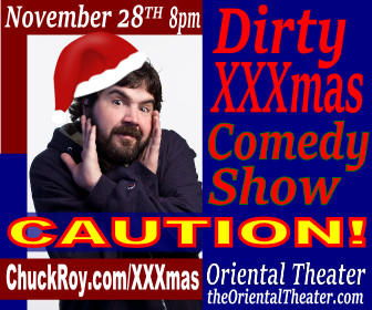 Chuck Roy's Dirty XXXmas Comedy Show
