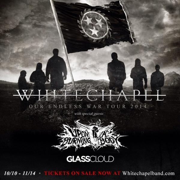 WHITECHAPEL, Upon A Burning Body, Glass Cloud
