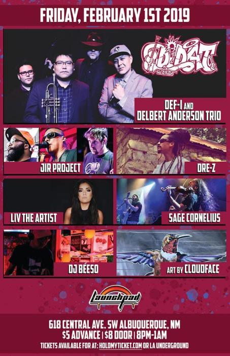 Ddat Jir Project Dre Z Liv The Artist Launchpad Albuquerque Nm February 1st 2019 9 00 Pm
