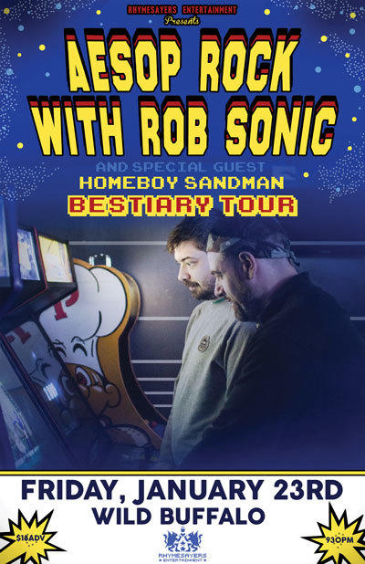 Aesop Rock with Rob Sonic