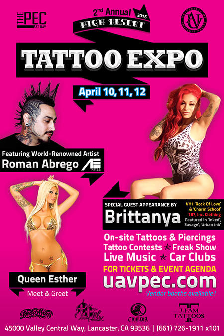 2nd Annual High Desert Tattoo Expo