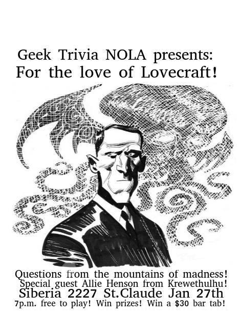 GEEK TRIVIA!! - For The Love of Lovecraft