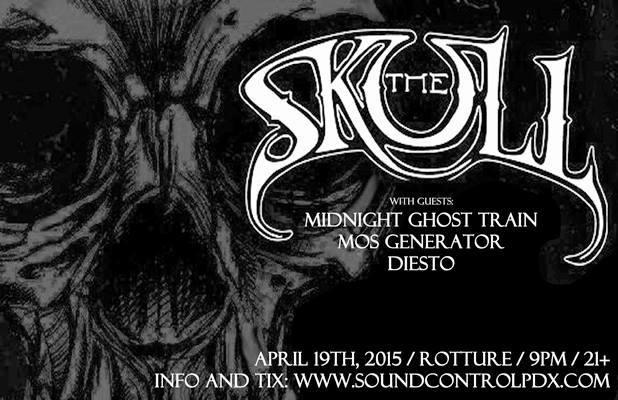THE SKULL (MEMBERS OF TROUBLE/PENTAGRAM)