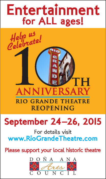 Rio Grande Theatre 10th Anniversary Re-Opening Celebration