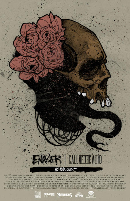 ENABLER / CALL OF THE VOID