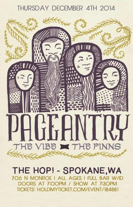 Pageantry, The Vibe, The Finns, Murmur