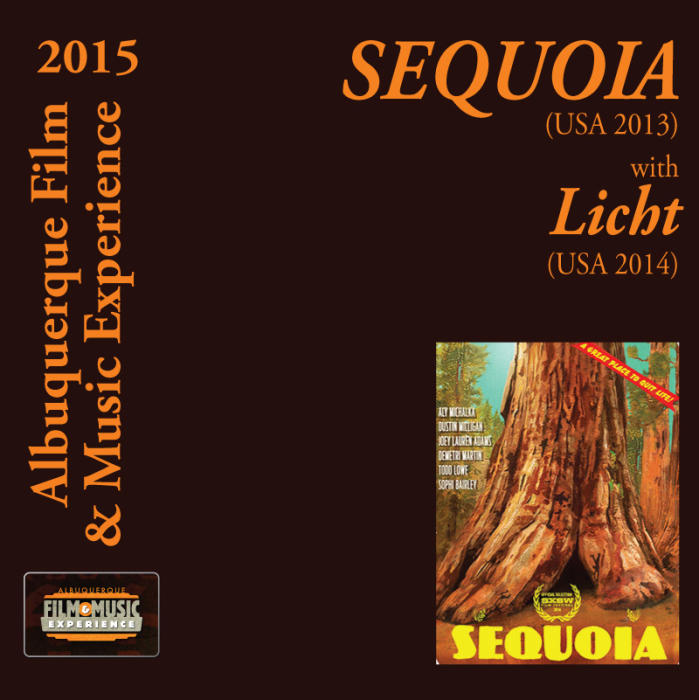 SEQUOIA (USA 2013) With Licht (USA 2015)