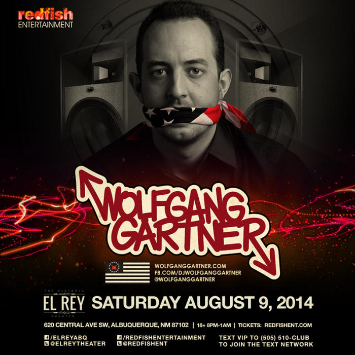 WOLFGANG GARTNER in Concert