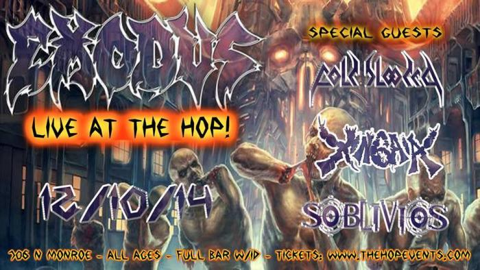 Exodus!!!!!!!!!!!!!!!!!!!!!!, Cold Blooded, Xingaia, Soblivios