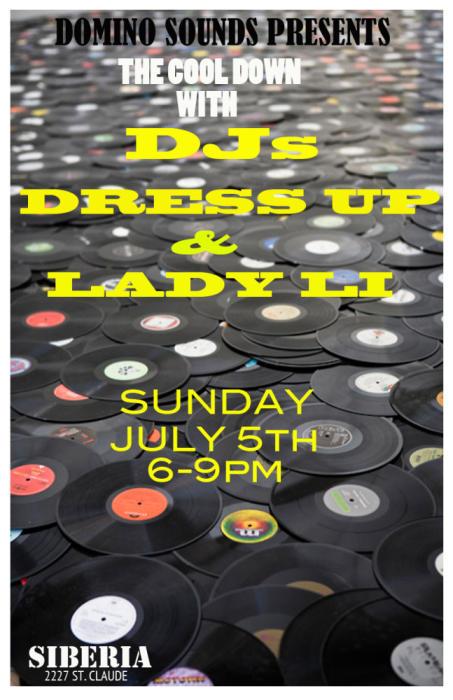 THE COOL DOWN w/ DJ Lady Li  & DJ Dress Up