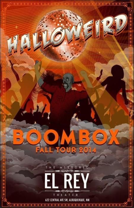 #HALLOWEIRD feat BOOMBOX (LIVE)