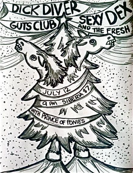 Dick Diver | Guts Club | Sexy Dex & The Fresh | DJ Prince of Ponies