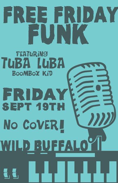 Free Friday Funk ft. Tuba Luba, Boombox Kid