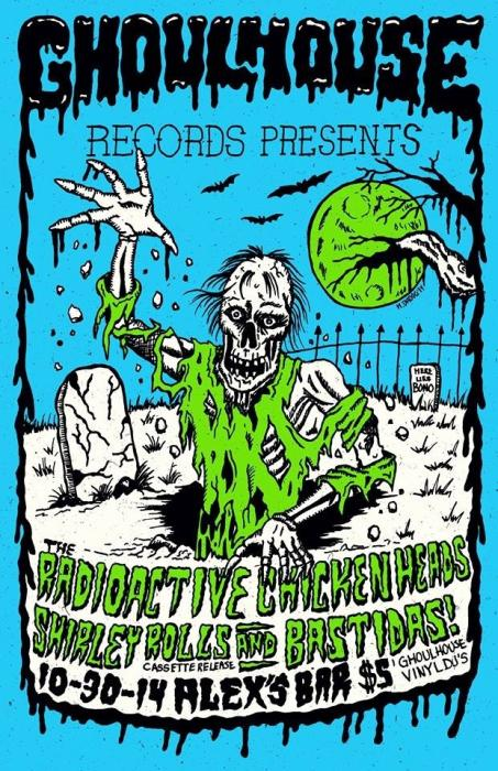 A SPOOKY HALLOWEEN SHOW OF EPIC PROPORTIONS WITH: BAUTIDAS!, SHIRLEY ROLLS, AND RADIO ACTIVE CHICKEN HEADS
