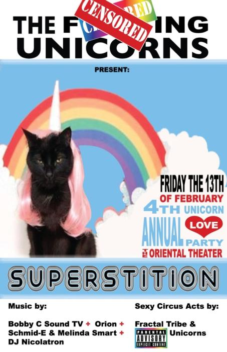 The Unicorn Love Party: SUPERSTITION