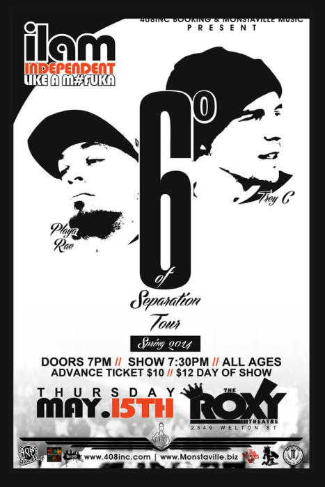"I.L.A.M. ""6 Degrees of Separation Tour"""