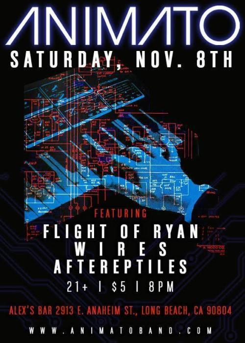 ANIMATO, FLIGHT OF RYAN, WIRES, AFTEREPTILES