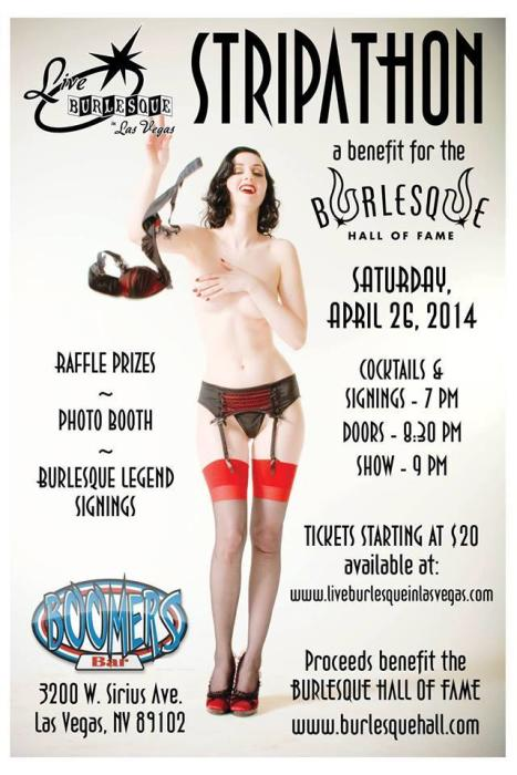 Stripathon ... A Benefit for BHoF