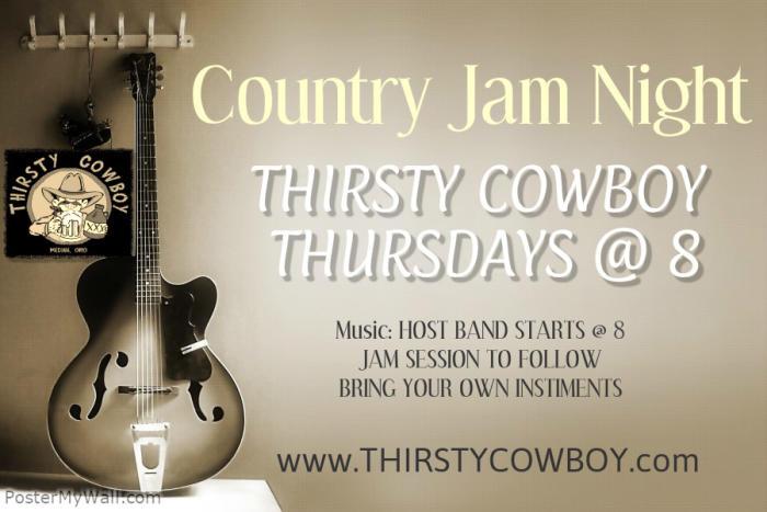 Jam Night @ Thirsty Cowboy