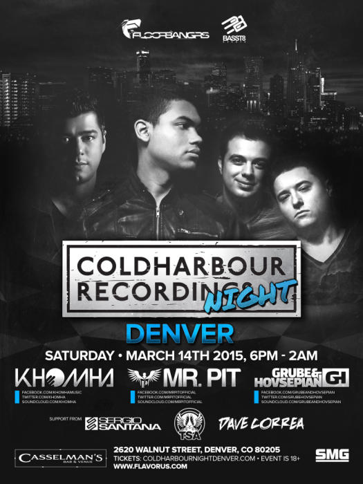 COLDHARBOUR NIGHT DENVER - Electronic