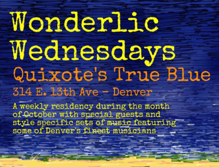 "Wild Wild Wednesdays:  Wonderlic / Chocolate George / Duggwick"", feat Jay Burwick of RAQ & Brian Duggan Tula/"