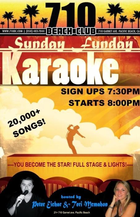 Sunday Funday Karaoke