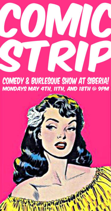 COMIC STRIP: Comedy and Burlesque Night