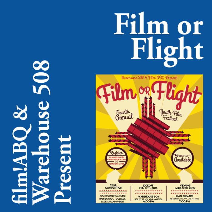 2015 Film or Flight - Youth Film Festival