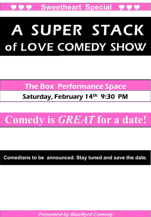 A Super Stacked Comedy Show