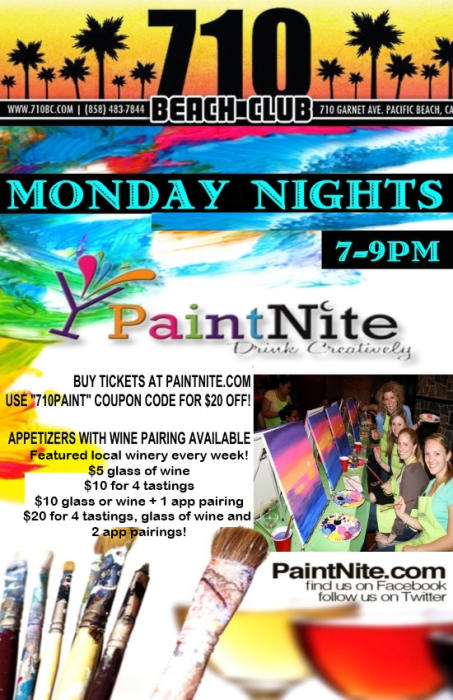 *** CANCELED *** Paint Nite!