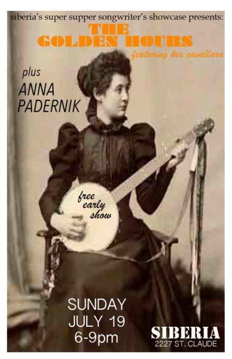 THE GOLDEN OURS ft. Kia Cavallaro | Anna Padernik - EARLY SHOW!!!