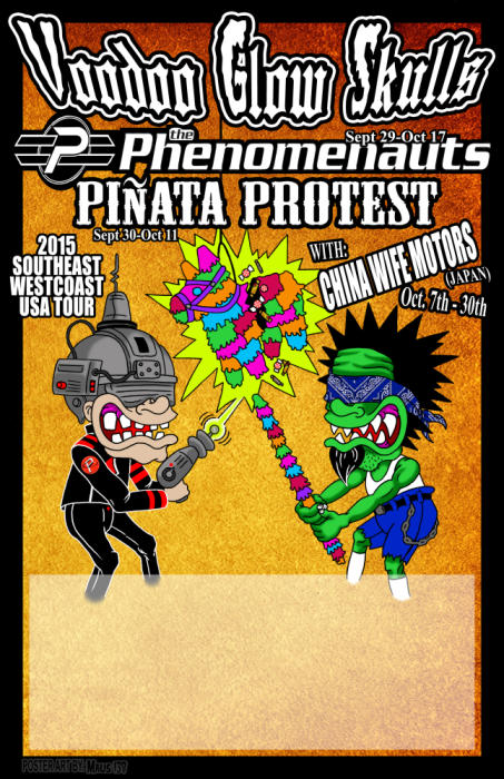 VOODOO GLOW SKULLS   The Phenomonauts   Pinata Protest   JOYSTICK!