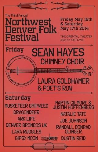 Northwest Denver Folk Festival w/ SEAN HAYES