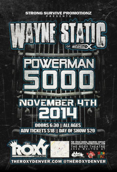 Wayne Static, Powerman 5000