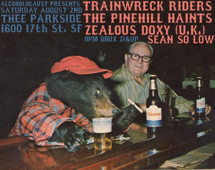 Trainwreck Riders, Pine Hill Haints, Zealous Doxy, Sean Solow