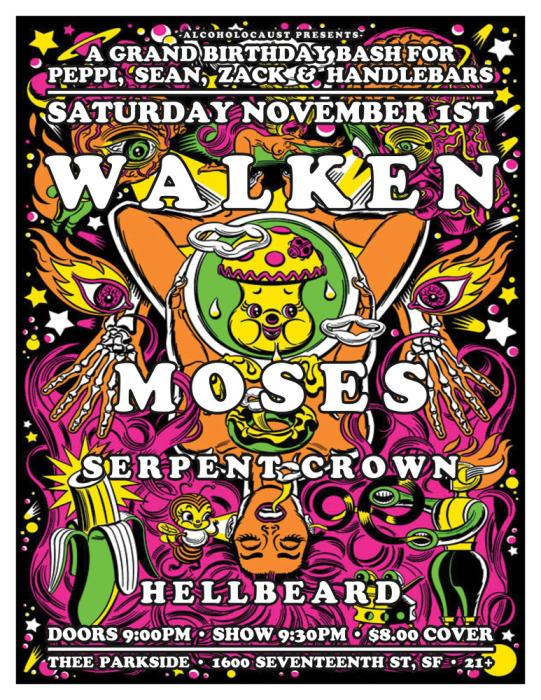Walken, Moses, Serpent Crown, Hellbeard